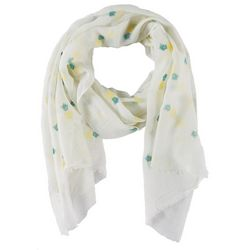 Bay Studio Womens Pineapple Print Scarf