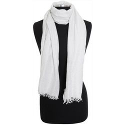 Bay Studio Womens Solid Shimmer Scarf