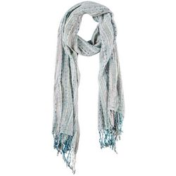 Betseyville Womens Woven Cool Speckled Scarf