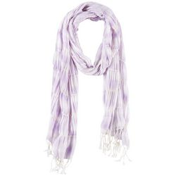 Betseyville Womens Cool Tones Ruffle Texture Scarf
