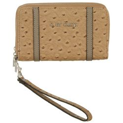 G by Guess Reeling Textured Wrislet Wallet