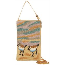 Bamboo Trading Co. Sand Piper Beaded Club Bag