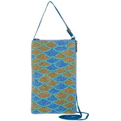 Bamboo Trading Co. Mermaid Scales Crossbody Handbag