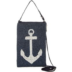 Bamboo Trading Co. Anchor Club Bag Crossbody Handbag