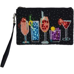 Bamboo Trading Co. Cocktail Mingle Wristlet