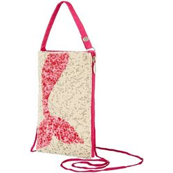 Bamboo Trading Co. Mermaid Crossbody Handbag