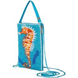 Bamboo Trading Co. Seahorse Crossbody Handbag