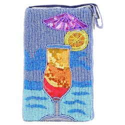 Bamboo Trading Co. Tropical Drink Club Bag Crossbody Handbag