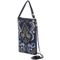 Bamboo Trading Co. Delightful Denim Crossbody Handbag