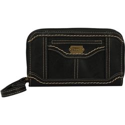 B.O.C. Double Zipper Organizer Wallet