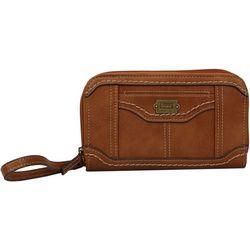 B.O.C. Double Zipper Organizer Wallet