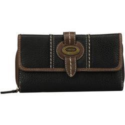 B.O.C. Front Flap Deluxe Zip Wallet