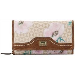 B.O.C. Travis Floral Deluxe RFID Wallet