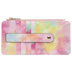 Jen & Co Sage Shimmer Tie Dye Wallet