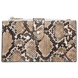 Jen & Co Snakeskin Odelia Wallet
