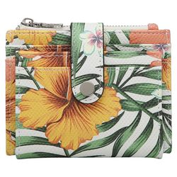 Jen & Co Sam Hibiscus Tropical Wallet