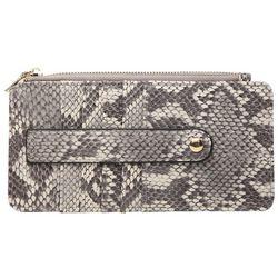 Jen & Co Sage Snakeskin Wallet
