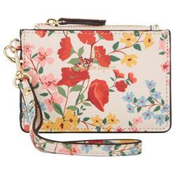 Garden Floral Card Wristlet
