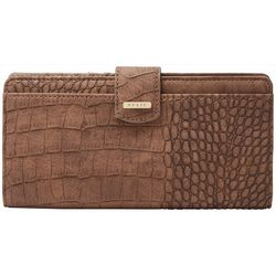 Relic RFID Snake Texture Checkbook Wallet