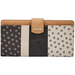RELIC by Fossil Colorblock & Dots RFID Checkbook Wallet