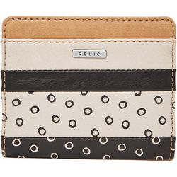 RELIC by Fossil Colorblock & Dots RFID Bi fold Wallet