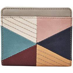 RELIC by Fossil Triangle Patchwork RFID Bi fold Wallet