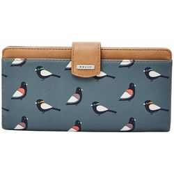 RELIC by Fossil Bird Print RFID Checkbook Wallet