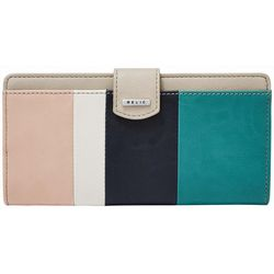 RELIC by Fossil Striped RFID Checkbook Wallet