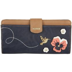 RELIC by Fossil Hummingbird RFID Checkbook Wallet