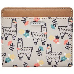 RELIC by Fossil Llama Print RFID Bifold Wallet
