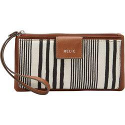 Relic Cameron Stripe Checkbook Wristlet Wallet