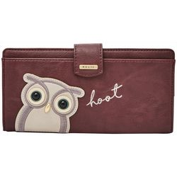 RELIC by Fossil Hoot Owl RFID Checkbook Wallet