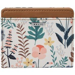 Relic RFID Floral Print Bifold Wallet