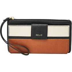 Relic Cameron Colorblock Checkbook Wallet