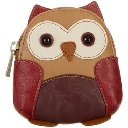 Relic Owl Zip Coin Purse