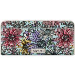 Sakroots Pastel Flower Garden Slim Wallet