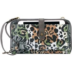 Sakroots Slate Spotted Wildlife Crossbody Handbag