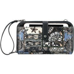 Sakroots Black Desert Patch Smartphone Crossbody Handbag
