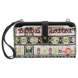 Sakroots Large Smartphone Optic Spirit Crossbody Handbag