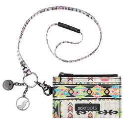 Sakroots Optic Spirit ID Lanyard Wallet