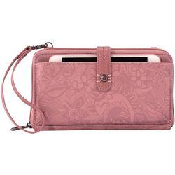 Sakroots Blush Spirit Desert Smartphone Crossbody Handbag
