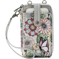 Blush In Bloom Smartphone Wristlet