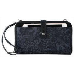 Sakroots Tonal Floral Smartphone Crossbody Handbag