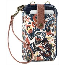 Sakroots Paisley Floral Smartphone Wristlet