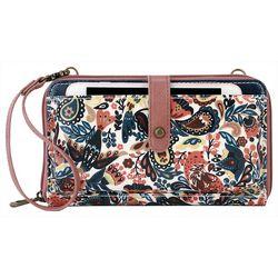 Sakroots Paisley Floral Smartphone Crossbody Handbag