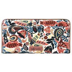 Sakroots Paisley Floral Slim Wallet