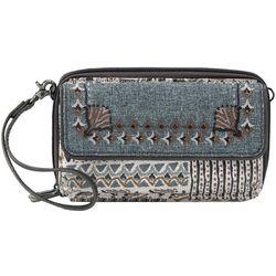 Sakroots Luna Natural Brave Smartphone Crossbody Handbag