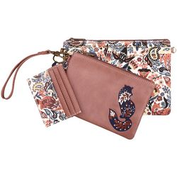 Sakroots Clay Enchanted Forest Adventure Triple Handbag