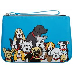 Marc Tetro All The Dogs Wristlet