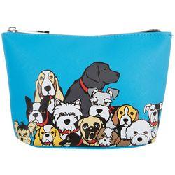 Marc Tetro All Dogs Medium Cosmetic Bag